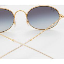 RayBan Okulary przeciwsłoneczne rubber goldcoloured on top black. Żółte okulary przeciwsłoneczne damskie lenonki Ray-Ban. Za 639,00 zł.