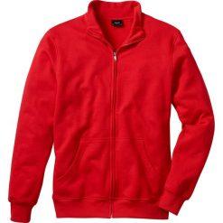 Bluza rozpinana bonprix czerwony. Czerwone bejsbolówki męskie bonprix, l, z dresówki. Za 44,99 zł.