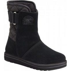 Sorel  Śniegowce Newbie Black 39. Czarne śniegowce damskie Sorel. Za 435,00 zł.