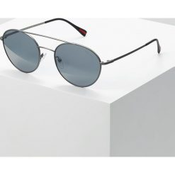 Prada Linea Rossa Okulary przeciwsłoneczne matte gunmetal/light grey mirror black. Szare okulary przeciwsłoneczne męskie aviatory Prada Linea Rossa. Za 839,00 zł.