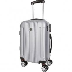 Walizka w kolorze srebrnym - 86 l. Szare walizki marki Platinium, z materiału. W wyprzedaży za 299,95 zł.