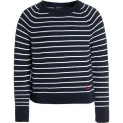Odzież dziecięca: Polo Ralph Lauren EYELET Sweter summer navy/white