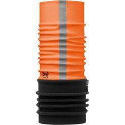 Szaliki męskie: Buff Komin Polar Buff Reflective R-Solid Orange Fluor kolor pomarańczowo-czarny, roz. 53/62 (BP111589.211.10.00)