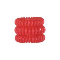 Invisibobble The Traceless Hair Ring gumka do włosów 3 szt dla kobiet Red. Czerwone ozdoby do włosów INVISIBOBBLE. Za 9,34 zł.