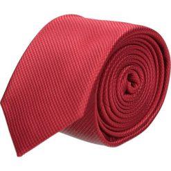 Krawat platinum czerwony classic 201. Czerwone krawaty męskie Recman. Za 49,00 zł.