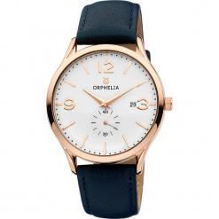 Zegarek kwarcowy w kolorze niebiesko-biało-różowozłotym. Niebieskie, analogowe zegarki męskie Esprit Watches, metalowe. W wyprzedaży za 136,95 zł.