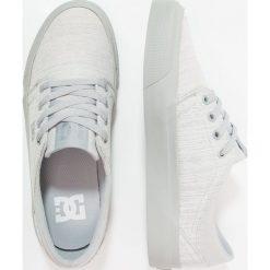 Trampki damskie slip on: DC Shoes TRASE  Tenisówki i Trampki light grey