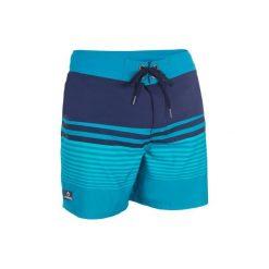 Spodenki Guethary Waves. Niebieskie szorty męskie marki ARTENGO, l, z elastanu. W wyprzedaży za 49,99 zł.