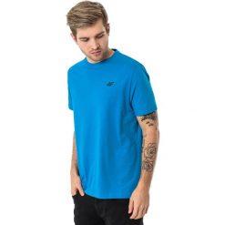 4f Koszulka męska H4L18-TSM002 niebieska r. XXL. Niebieskie koszulki sportowe męskie 4f, l. Za 27,47 zł.