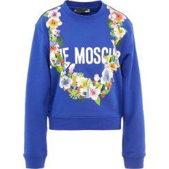 Odzież damska: Love Moschino Bluza blue
