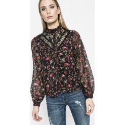 Vero Moda - Koszula. Czarne koszule wiązane damskie Vero Moda, l, z poliesteru, casualowe, z długim rękawem. W wyprzedaży za 69,90 zł.