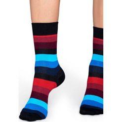 Happy Socks - Skarpety Stripe. Szare skarpetki męskie marki Happy Socks. W wyprzedaży za 29,90 zł.