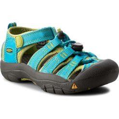 Sandały KEEN - Newport H2 1012294 Hawaiian Blue/Green Glow. Niebieskie sandały chłopięce marki Keen, z gumy. W wyprzedaży za 179,00 zł.