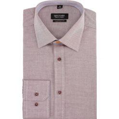 Koszula bexley 2049 długi rękaw custom fit bordo. Czerwone koszule męskie marki Recman, m, z długim rękawem. Za 49,99 zł.