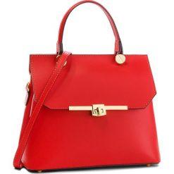 Torebka CREOLE - K10557 Koral. Czerwone torebki klasyczne damskie Creole, ze skóry. Za 249,00 zł.