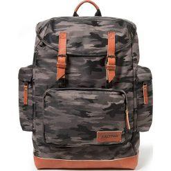 Plecaki męskie: Plecak w kolorze szarobrązowo-czarnym – 32 x 44 x 20 cm