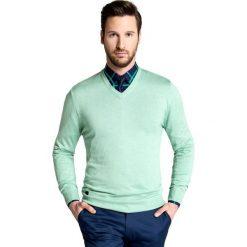 Sweter CORRADO 15-21SR. Zielone swetry klasyczne męskie Giacomo Conti, m, z tkaniny. Za 169,00 zł.