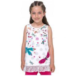Desigual Podkoszulek Dziewczęcy Arizona 128 Biały. Białe bielizna chłopięca marki Desigual. W wyprzedaży za 125,00 zł.