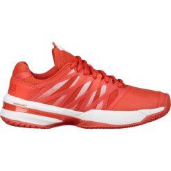KSWISS SANDPLATZ ULTRASHOT Obuwie do tenisa Outdoor red. Białe buty sportowe damskie marki K-SWISS. W wyprzedaży za 535,20 zł.
