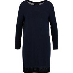 Sukienki dzianinowe: Cortefiel Sukienka dzianinowa dunkel blau
