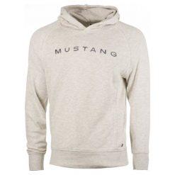 Mustang Bluza Męska Fancy Hoodie M Szary. Czarne bluzy męskie rozpinane marki Mustang, l, z bawełny, z kapturem. Za 299,00 zł.