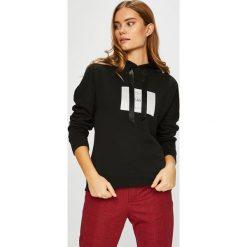 Only - Bluza Lux. Brązowe bluzy rozpinane damskie ONLY, l, z aplikacjami, z bawełny, z kapturem. W wyprzedaży za 99,90 zł.