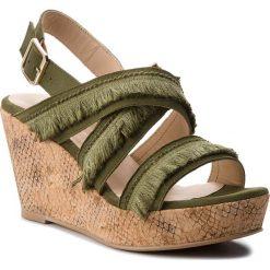 Rzymianki damskie: Sandały BRENDA ZARO – TZ2247A  Alga