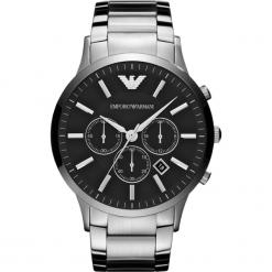 Zegarek EMPORIO ARMANI - Renato AR2460 Silver/Steel/Silver/Steel. Szare zegarki męskie Emporio Armani. Za 1590,00 zł.