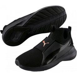 Puma Damskie Buty Sportowe Rebe Mid Wns Ep Black Bl 38,5. Czarne buty do fitnessu damskie marki Puma. W wyprzedaży za 219,00 zł.
