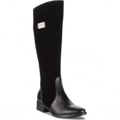 Oficerki SERGIO BARDI - Davoli FW127283618SW 601. Czarne buty zimowe damskie Sergio Bardi, ze skóry. Za 469,00 zł.