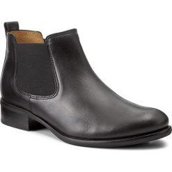 Sztyblety GABOR - 71.640.27 Schwarz. Czarne buty zimowe damskie marki Gabor, z materiału, na obcasie. W wyprzedaży za 339,00 zł.