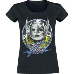 Thor Thoress Circled Koszulka damska czarny. Czarne bluzki z odkrytymi ramionami Thor, l, z nadrukiem, z okrągłym kołnierzem. Za 54,90 zł.