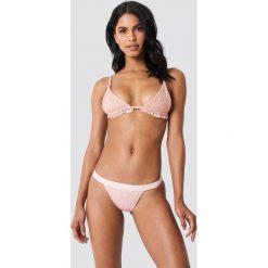 Hot Anatomy Dół bikini z marszczeniem Sweet - Pink. Różowe bikini Hot Anatomy, w paski. Za 80,95 zł.