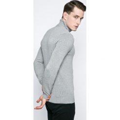 Blend - Sweter. Brązowe golfy męskie marki Blend, l, z bawełny, bez kaptura. W wyprzedaży za 99,90 zł.