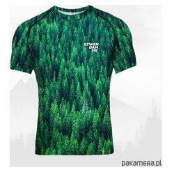 Koszulka termoaktywna męska - LAS IGLASTY. Czarne odzież termoaktywna męska marki Pakamera, m, z kapturem. Za 159,00 zł.