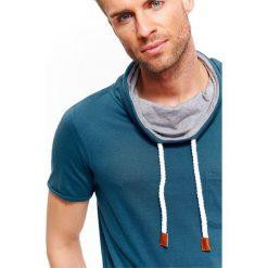 T-shirty męskie: T-SHIRT MĘSKI TYPU GOLF