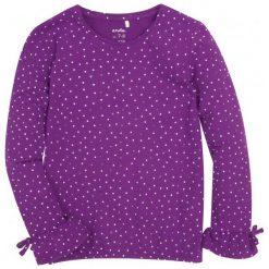 Bluzki dziewczęce z długim rękawem: Bufiasta bluzka z brokatem dla dziewczynki 9-13 lat