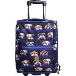 Pick & PACK DOGS Walizka na kółkach blue. Niebieskie walizki pick & PACK. Za 379,00 zł.