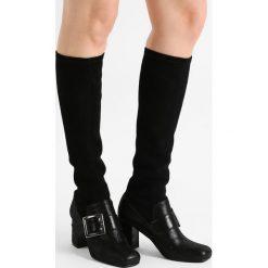 Alberto Zago Kozaki aida nero/ cam elast nero. Czarne buty zimowe damskie Alberto Zago, z materiału. W wyprzedaży za 714,50 zł.