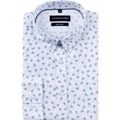 Koszula SIMONE KDWR000201. Czarne koszule męskie na spinki marki TOM TAILOR DENIM, l, z bawełny, button down, z długim rękawem. Za 149,00 zł.