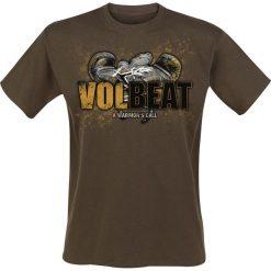Volbeat Boxing T-Shirt brązowy. Brązowe t-shirty męskie z nadrukiem Volbeat, m. Za 54,90 zł.
