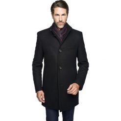 Płaszcz cambre czarny. Szare prochowce męskie marki Recman, m, z długim rękawem. Za 749,00 zł.
