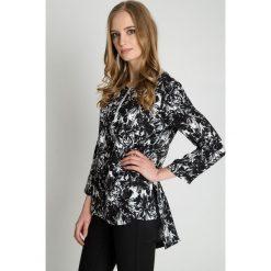 Bluzki, topy, tuniki: Czarno-biała bluzka we wzory BIALCON