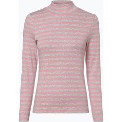 Franco Callegari - Damska koszulka z długim rękawem, szary. Zielone t-shirty damskie marki Franco Callegari, z napisami. Za 99,95 zł.
