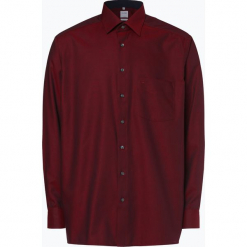 OLYMP Luxor comfort fit - Koszula męska – niewymagająca prasowania, czerwony. Czerwone koszule męskie non-iron marki Cropp, l. Za 229,95 zł.