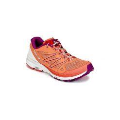 Buty do biegania Salomon  SENSE MARIN W. Szare buty do biegania damskie marki Salomon, z gore-texu, na sznurówki, gore-tex. Za 423,20 zł.