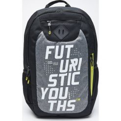 Plecak z neonowymi detalami - Czarny. Czarne plecaki męskie marki Cropp. Za 129,99 zł.