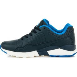 Buty skate męskie: Granatowe obuwie sportowe JILLIAN
