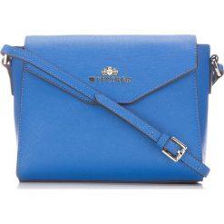 Torebka damska 86-4E-455-N. Niebieskie torebki klasyczne damskie Wittchen, w paski. Za 229,00 zł.