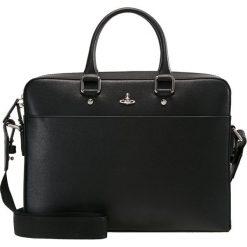 Vivienne Westwood KEN DOCUMENT CASE Aktówka black. Czarne torby na laptopa Vivienne Westwood, małe. Za 2079,00 zł.
